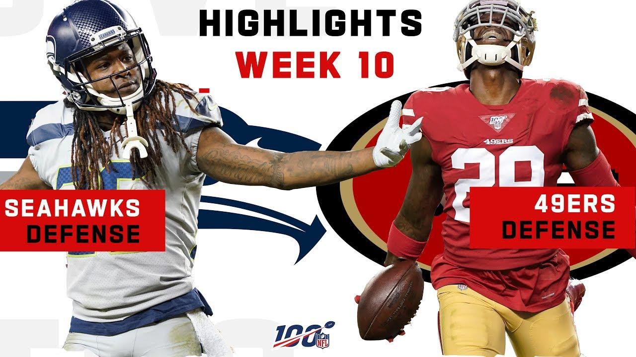 49ers Seahawks Defensive Battle Nfl 2019 Highlights