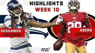 49ers & Seahawks Defensive Battle! | NFL 2019 Highlights