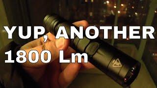 Nitecore EC23 1800 Lumens EDC Flashlight Review
