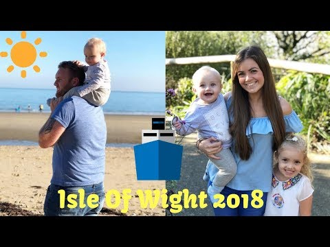 OCTOBER HALF TERM - ISLE OF WIGHT 2018 🌞 ⛵️ 🍦 ⚓️ 🐠 ⛴