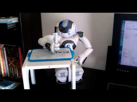 NAO Robot Writer - NAO Robot is able to...
