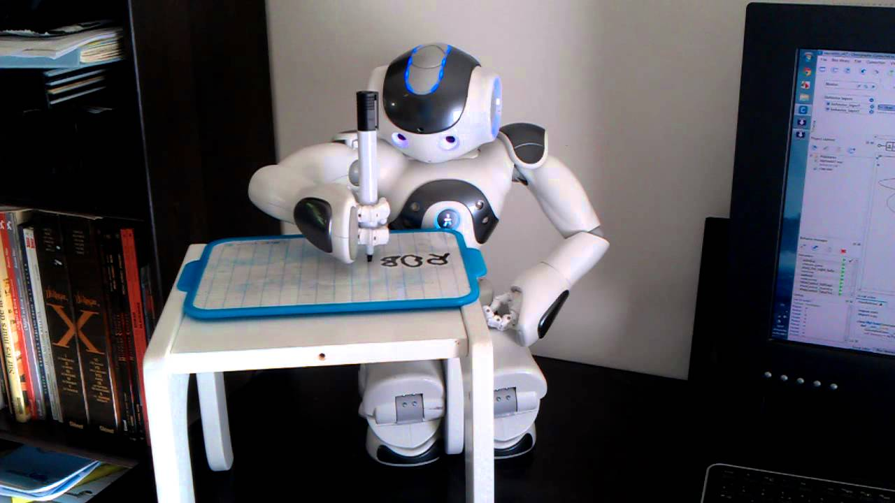Homework helping robot