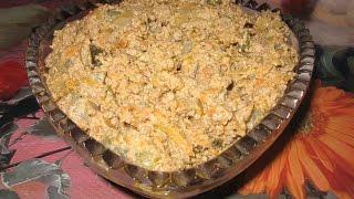 Салат из печени   Салат з печінки