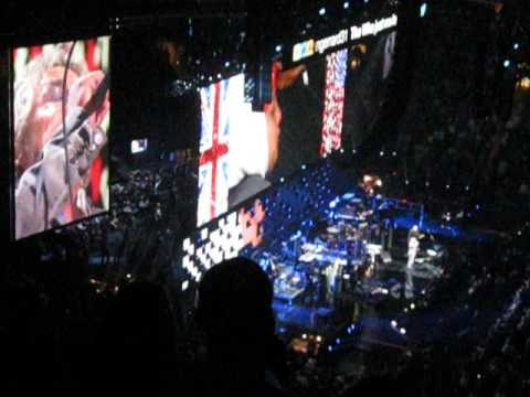 The Who at the 12.12.12 Sandy Relief Concert