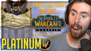 """Asmongold Reacts to """"The Night Before Classic (Ft. WoW Content Creators!)"""" by Platinum WoW"""