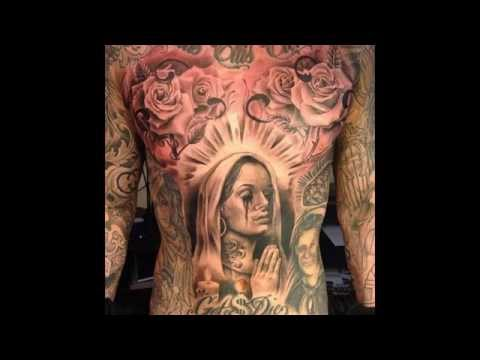 Chicano tattoo art designs