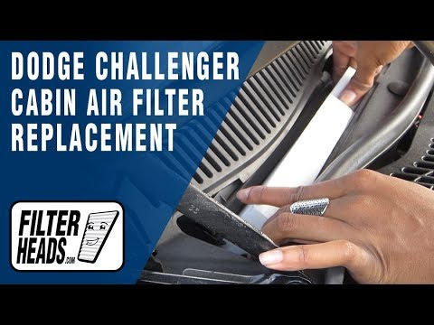 How To Replace Cabin Air Filter Dodge Challenger YouTube