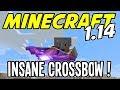 Minecraft 1.14 - INSANE CROSSBOW with PIERCING IV - Minecraft 1.14 Playthrough - Ep 13
