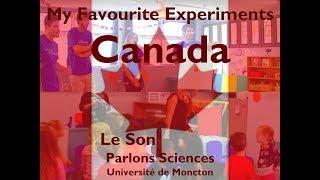 Le Son - Parlons Science - Université de Moncton