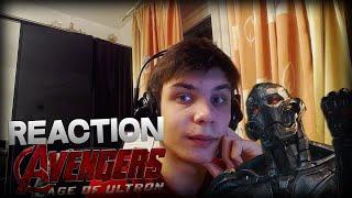 Reaction | Марвел Тизер-Трейлер №2 'Мстители: Эра Альтрона'