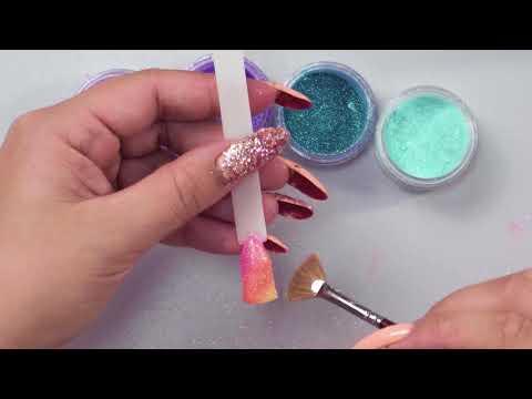 Пыль зеркальная для ногтей