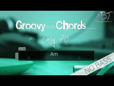 Groovy Three Chords Backing Track in A Minor | 120 bpm [NO BASS]