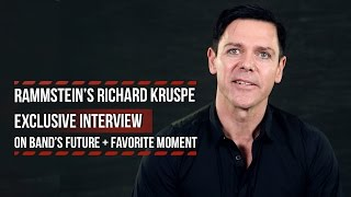 Richard Kruspe Talks Rammstein Future + Most Memorable Band Moment