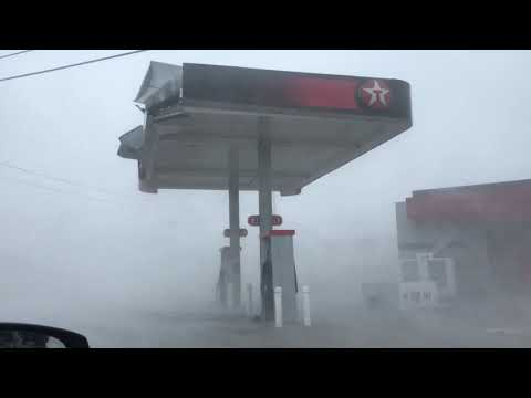 INTENSE eye wall of Hurricane Michael