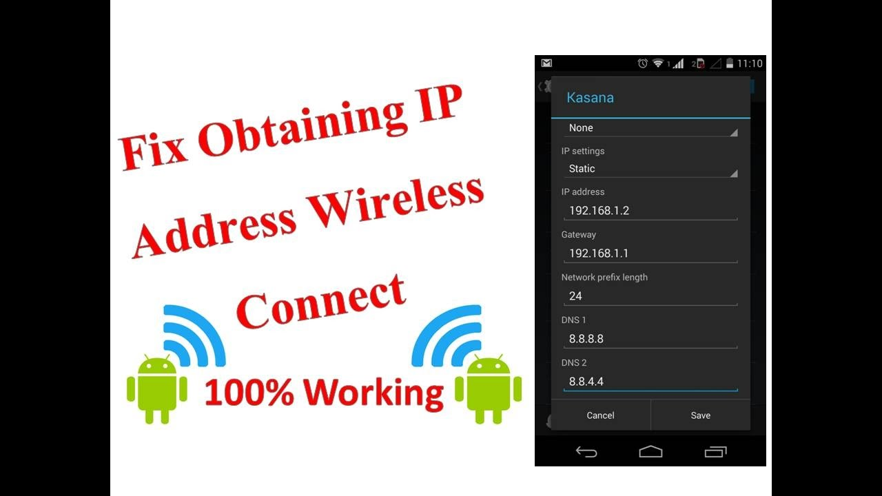 How to fix obtaining ip address wireless connect - Wifi Connection problem  solved