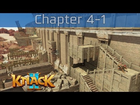 Knack 2 - Chapter 4-1: Ancient City of the Sands Walkthrough [HD 1080P/60FPS] thumbnail
