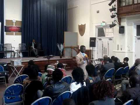 Pastor William Asare Bediako 4/01/09 part1