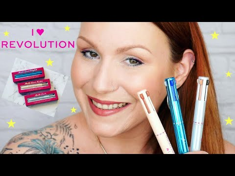 I Heart Revolution Retro Pen Style Multi Liners Review