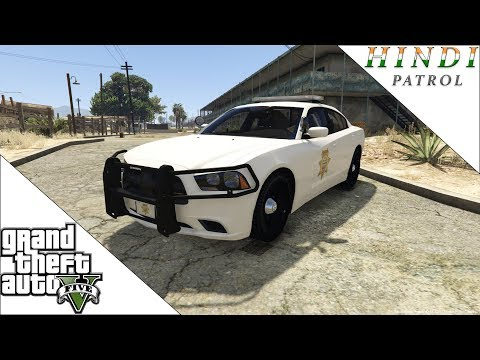 GTA 5 SHERIFF PATROL HINDI #66