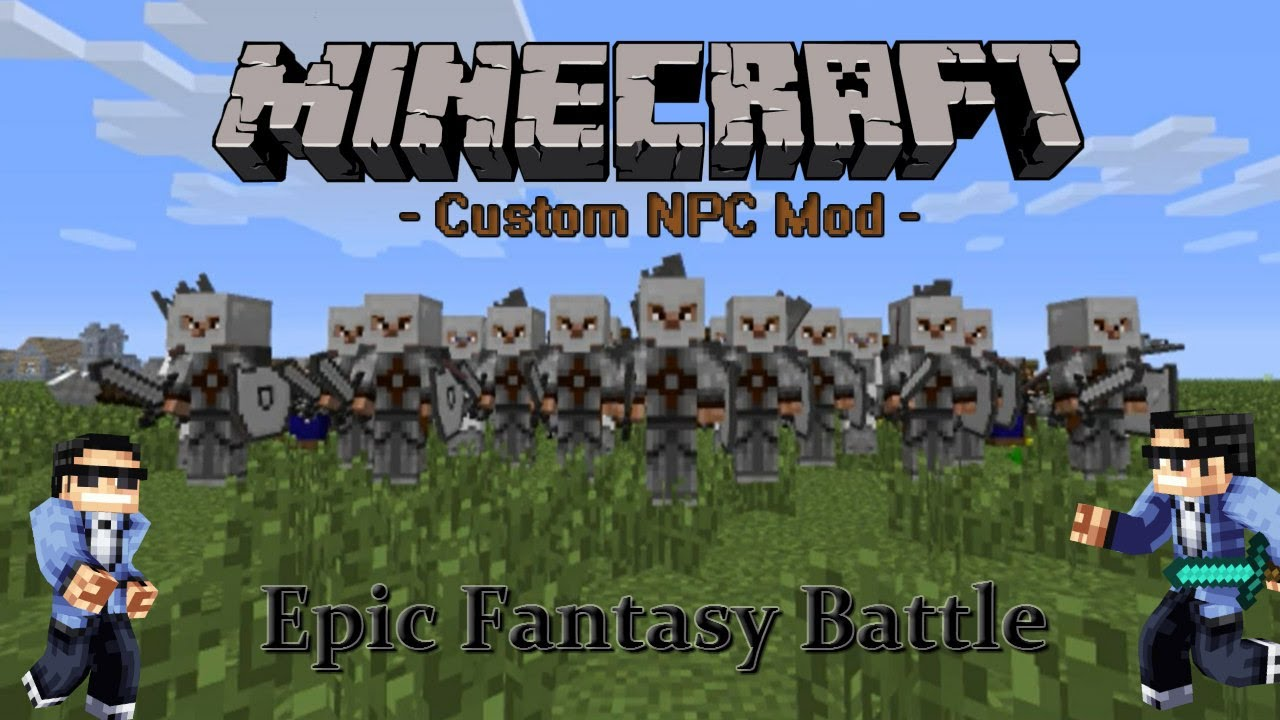 minecraft custom npc mod how to make a quest