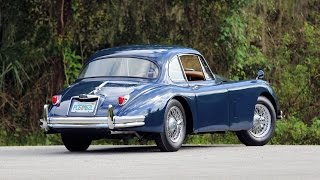 1959 Jaguar XK150 FHC  Exterior Walk Around, Flaws and All!