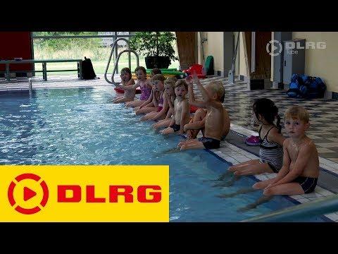 Die DLRG Schwimmausbildung - Anfängerschwimmkurs