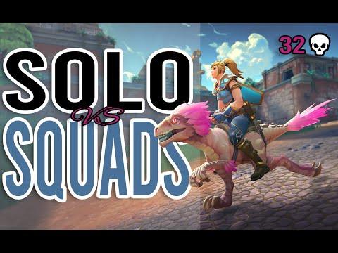 Realm Royale: INSANE Solo vs. Squads 32 Kill Game (Bolt Staff Mage)