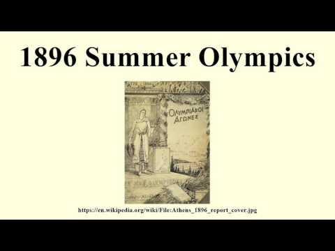 1896 Summer Olympics