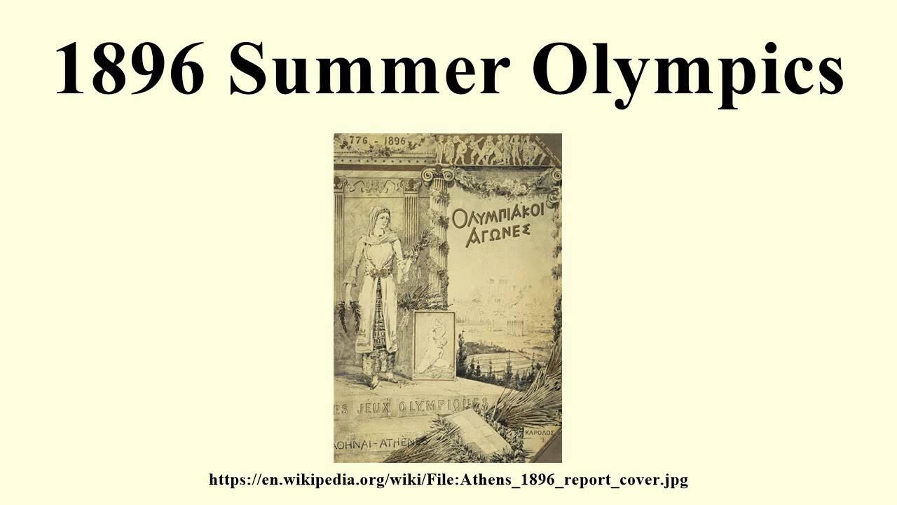 1896 Summer Olympics - YouTube