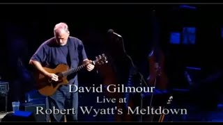David Gilmour in Concert Meltdown 2001/2002