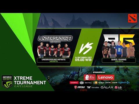 GEXT Dota 2 Series PlayOff: Barol Gaming (Jakarta) vs Underground Infinite (Jakarta)