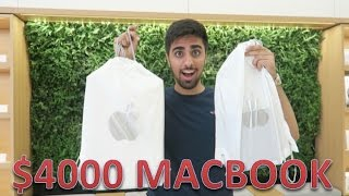 MY $4000 MACBOOK PRO !!!