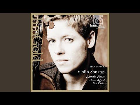 Sonata for solo violin Sz.117 in G Minor: IV. Presto