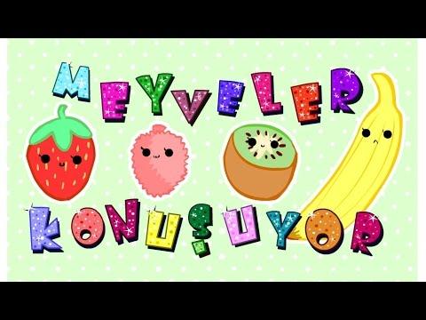 Yerli Mali Haftasi Meyveler Konusuyor Tekerlemeler Youtube
