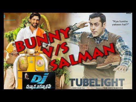 Duvvada Jagannadham VS Tubelight