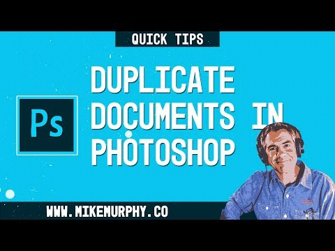Photoshop Quick Tip: How To Duplicate Files