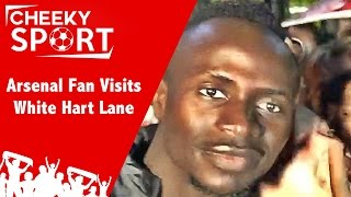 arsenal fan visits white hart lane   tottenham 1 1 leicester city   crystal palace 2 4 liverpool