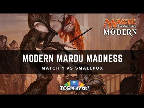 [MTG] Modern Mardu Madness | Match 1 VS Smallpox