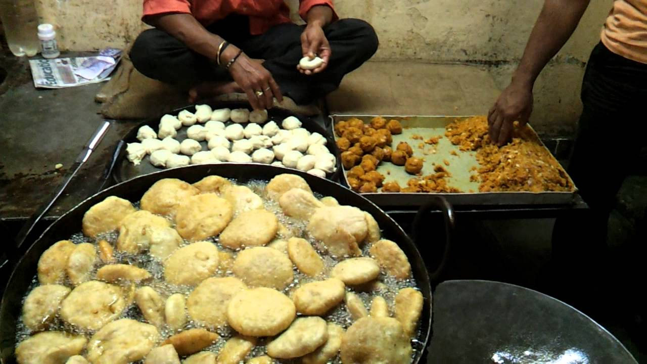 Poori Kachori Breakfast. Image Courtesy: Youtube