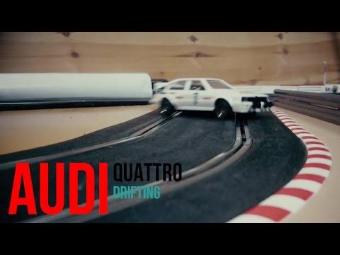 Audi Quattro Drifting (Scalextric)