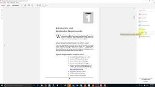 Adobe Acrobat Pro DC Tools Menu