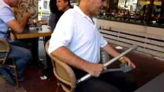 Folding crutches - קביים מתקפלות
