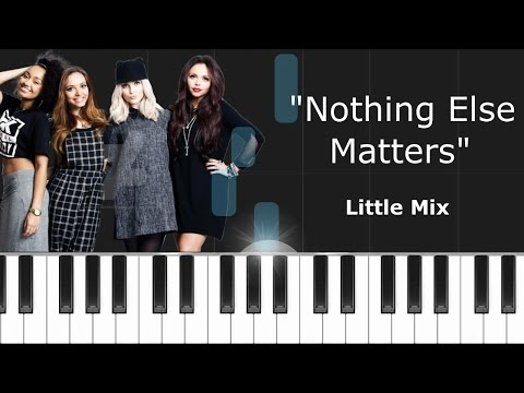 Nothing else matters chords piano
