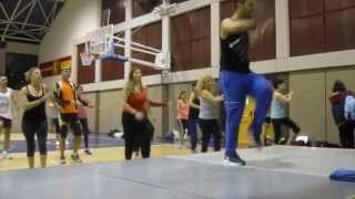 zumba®fitness with sahar -warm up 2014