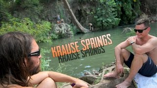 Rope Swing at Krause Springs | Spicewood Texas 2015