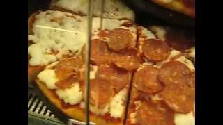 Variety of Italian pizza