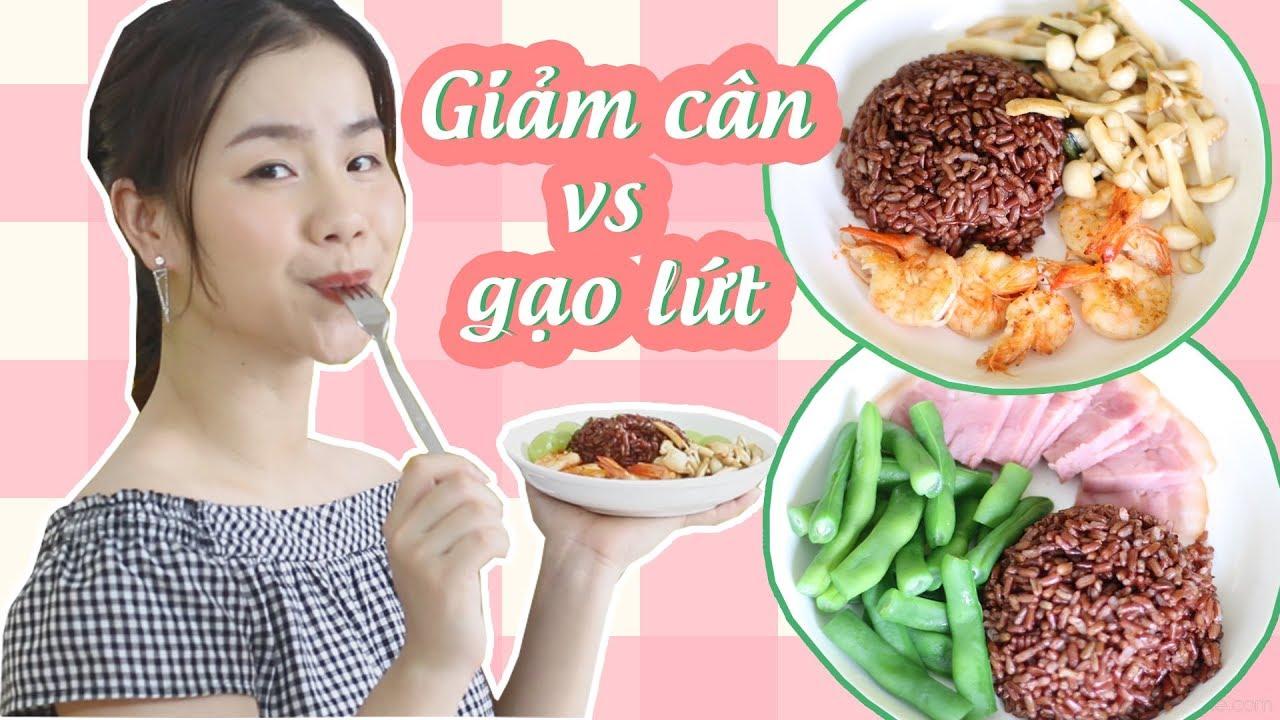 Giảm Cân Với Gạo Lứt  ♡ Cách Nấu Gạo Lứt Ngon ♡ Quin