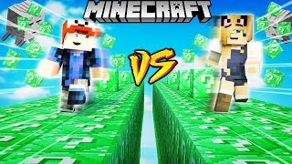 SZALONY WYŚCIG! - EMERALDOWE LUCKY BLOCKI MINECRAFT (Emerald Lucky Block Race) | Vito vs Bella