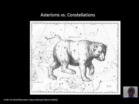 Asterisms Constellations