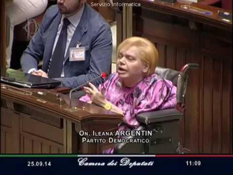 La camera e i diritti dei disabili ileana argentin resta for Deputati del pd